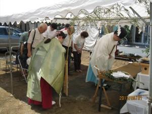 板橋区S様邸地鎮祭が執り行われました。